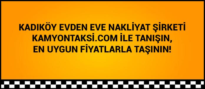 istanbul kadıköy evden eve nakliyat firması